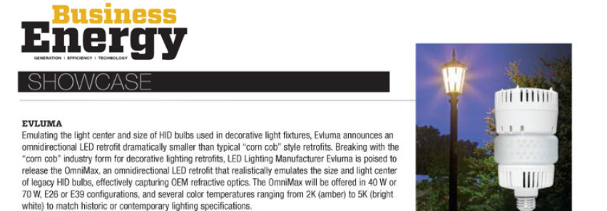 March/April Business Energy Showcase – Evluma OmniMax