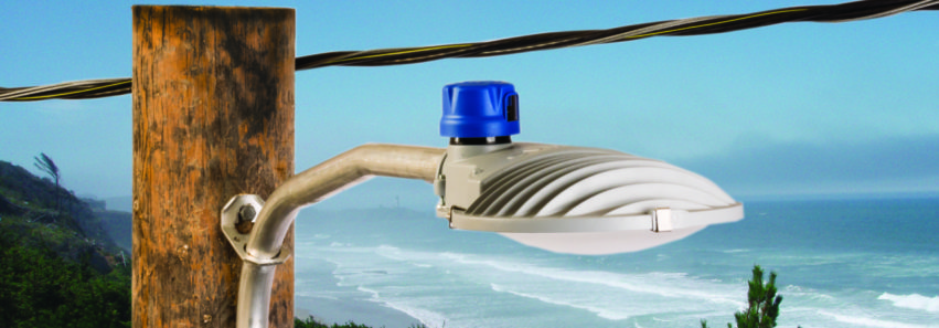 Luminaria Longevity para LED AreaMax en ambientes marinos